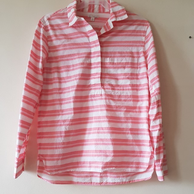 GAP loose stripe long sleeves