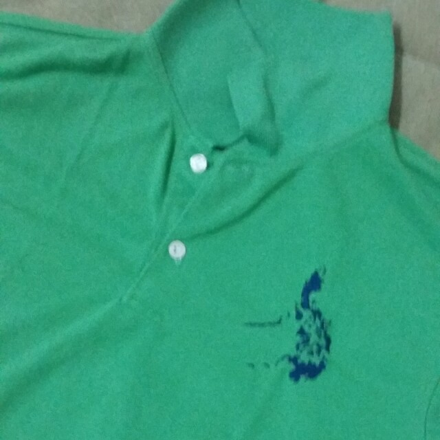 GREEN POLO..8-9 years old