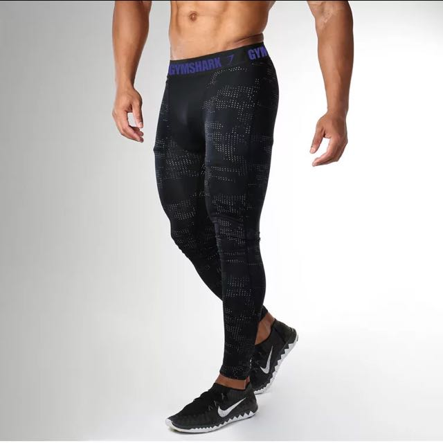 3d1854dae784c0 Gymshark Compression Leggings, Men's Fashion, Clothes on Carousell