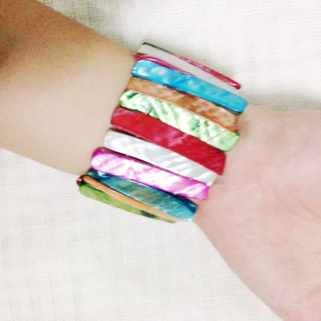 Handmade Multi colored Bracelet