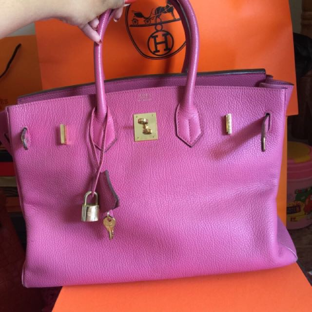 Hermes Hirkin 35 Violet