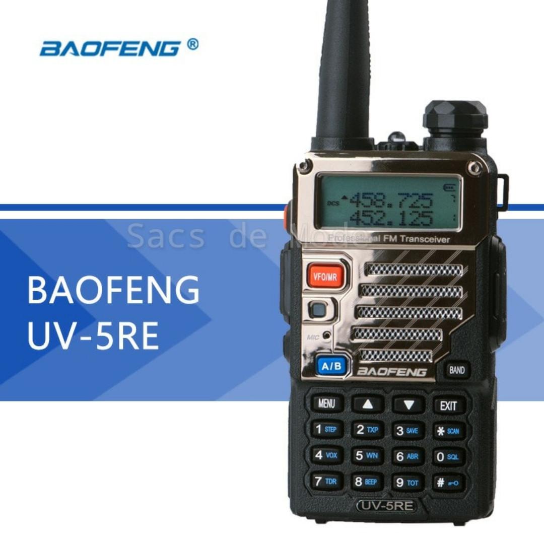 HT Baofeng UV-5RE / UV5RE Dual Band UHF/VHF
