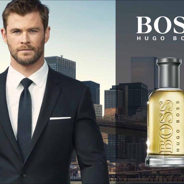 hugo boss advert chris hemsworth