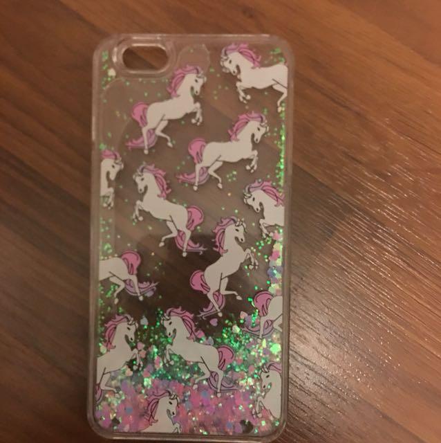 Iphone 6s Plus Liquid Glitter phone case