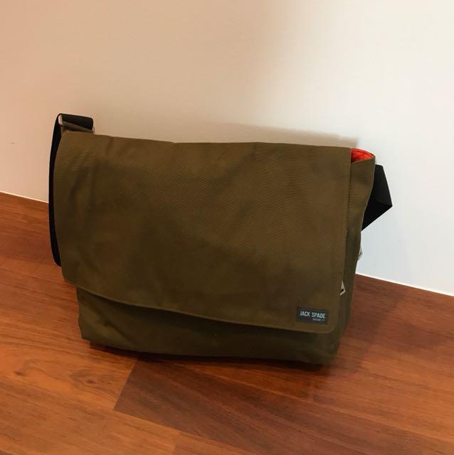 Jack Spade Porter Messenger Bag Men S Fashion Bags Wallets On Carou