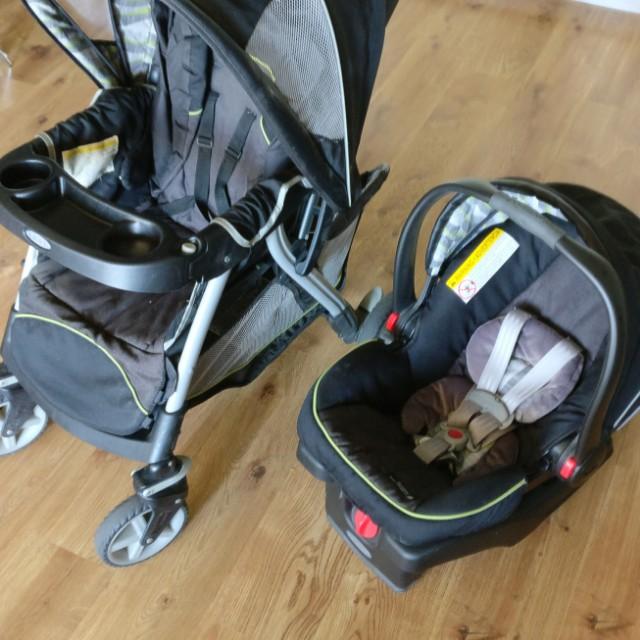 Jual murah Graco Stroller & Car Seat all in 1, Bayi & Anak, Kereta ...