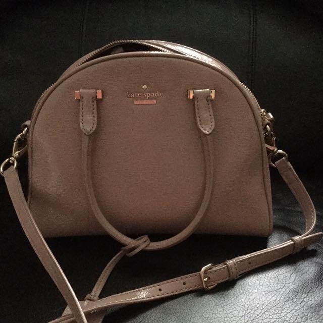 Kate Spade Pink Leather Bag