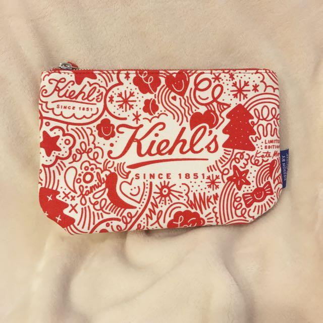 KIEHL'S 契爾氏 2017 限量帆布化妝包