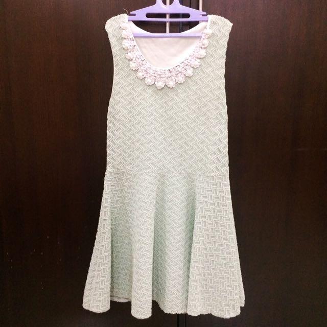 Korean Mint Dress