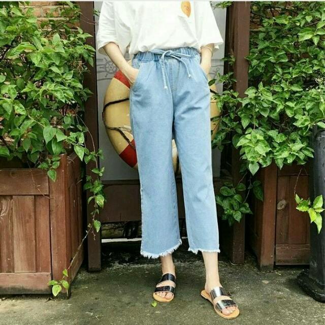 Kulot Jeans Ready Black