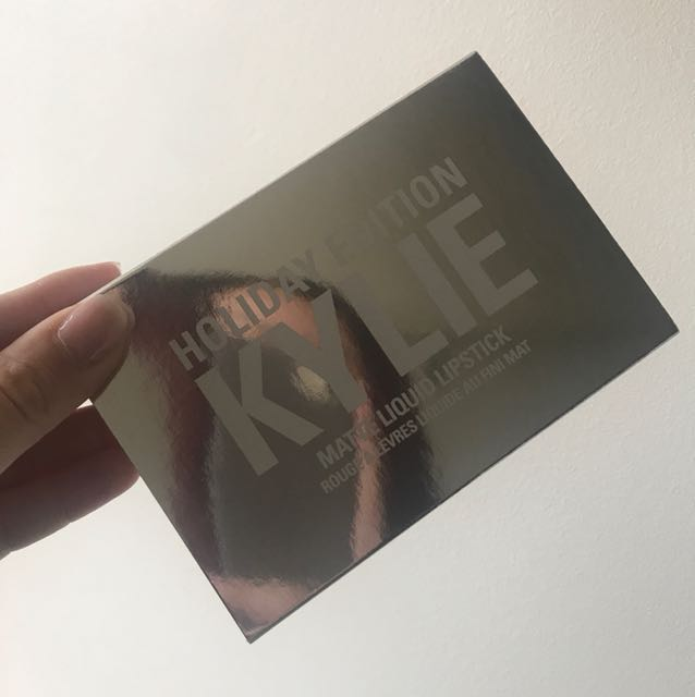 Kylie Holiday lip set minis