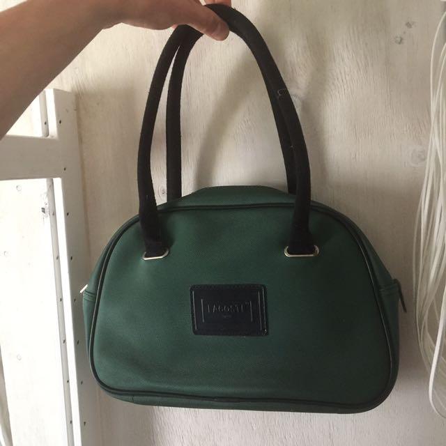 Lacoste Forest Green Handbag