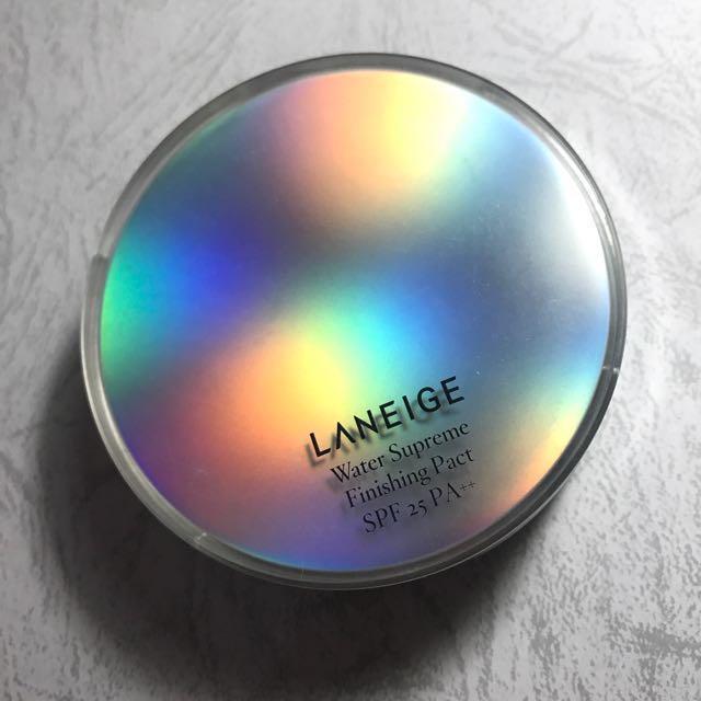 Laneige Water Supreme Finishing Pact (Powder)