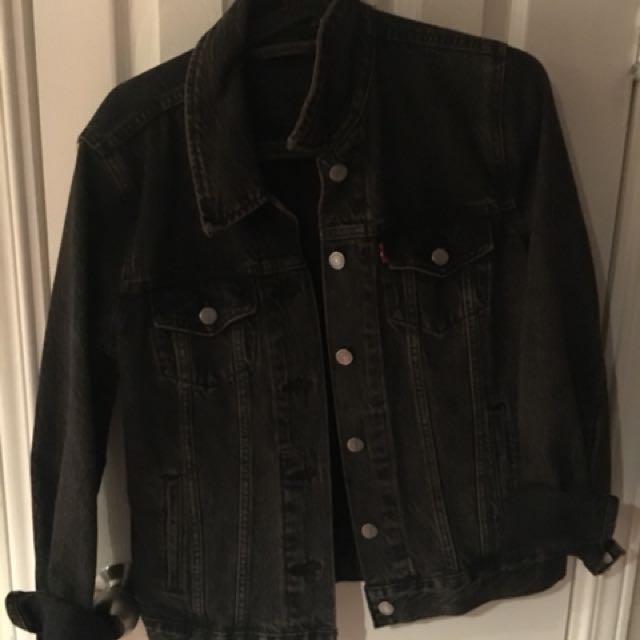 Levi's acid wash denim jacket