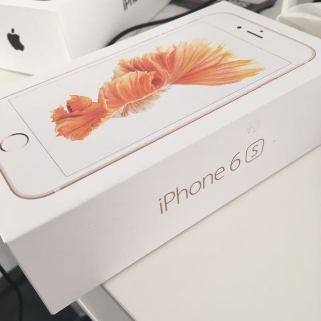 Like new iPhone 6s 128GB rose gold