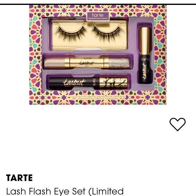 Limited edition lash flash eye set