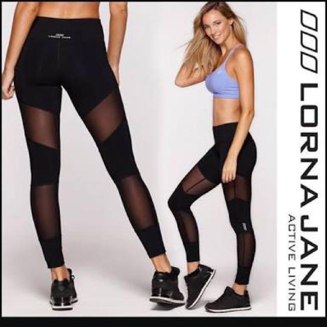 Lorna Jane Black tights size S