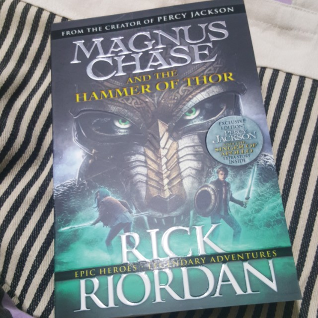 Magnus chase and the hammer of rhor