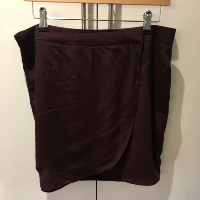 MANGO tulip skirt size 8