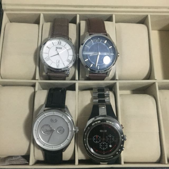 Men's Authentic D&G/Armani/Hugo Boss Watch