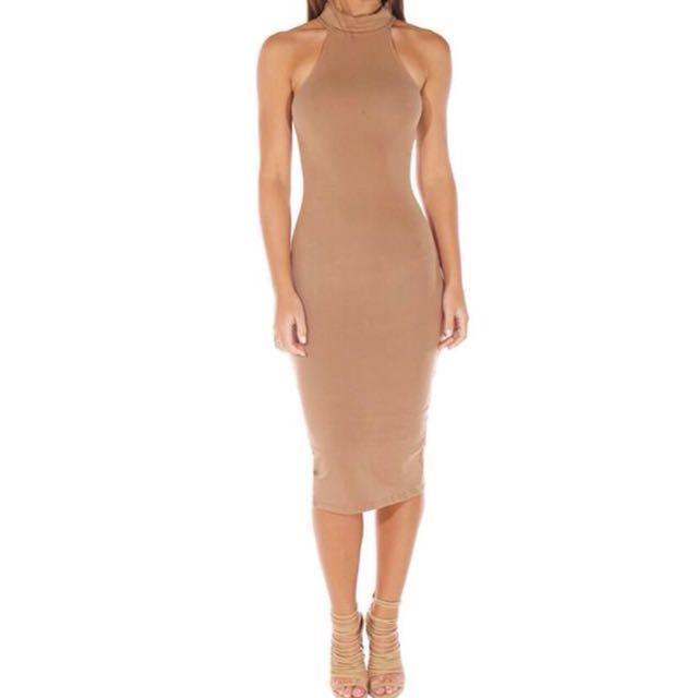 Meshki dress mocha
