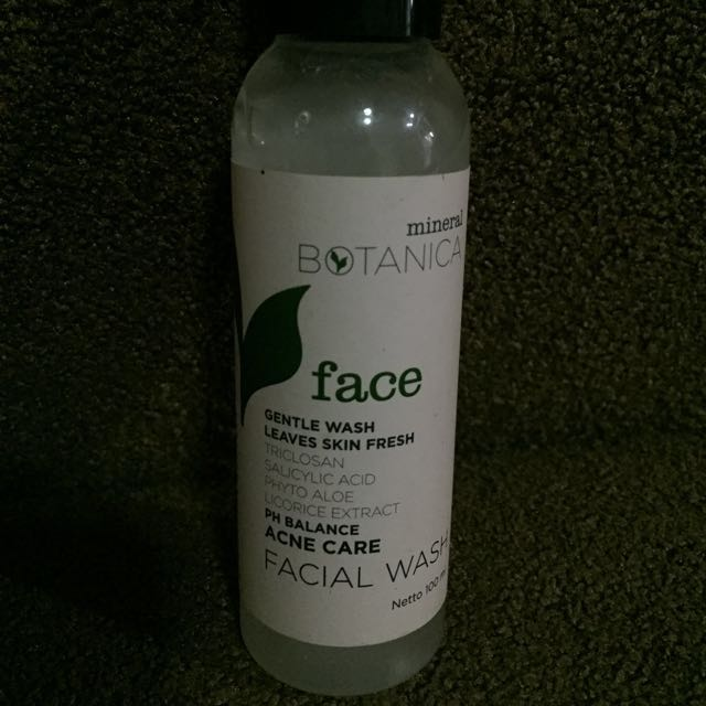 Mineral Botanica Acne Care Face Wash