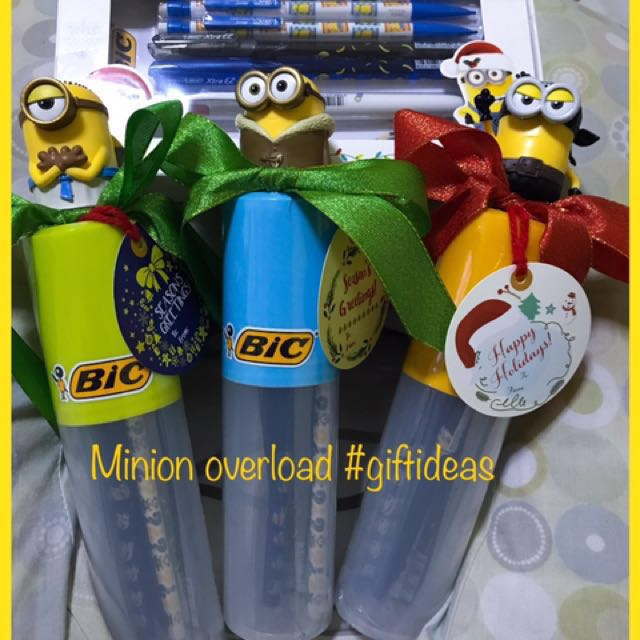Minion christmas set