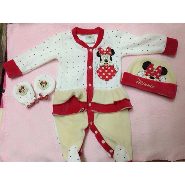Minnie Mouse Frogsuit Set