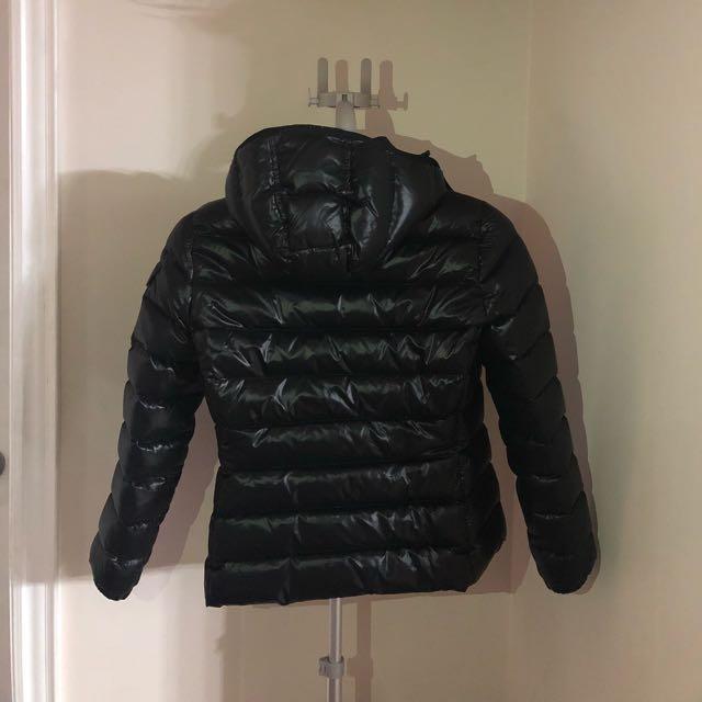 Moncler Short Down Jacket in Black size 2