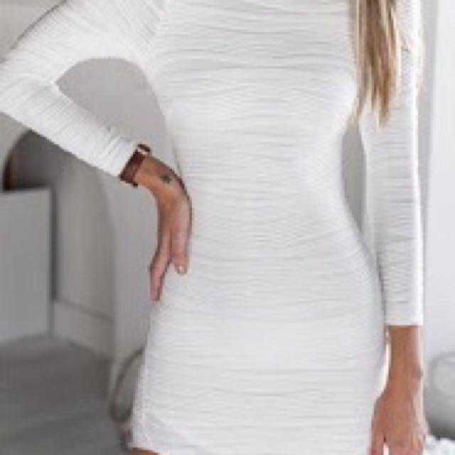 Mura boutique white dress