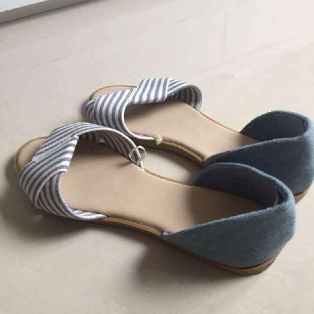 Net 海灘風涼鞋