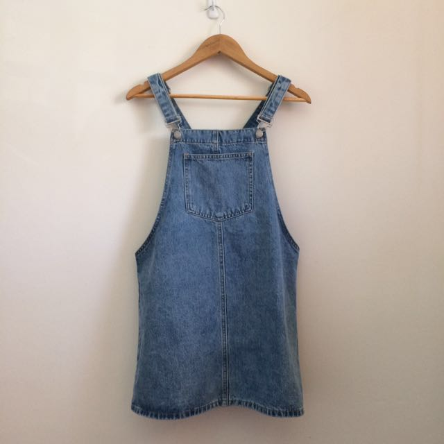 New NWOT size 10 General Pants denim blue overall dress pinafore