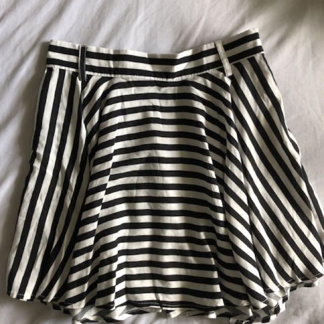 New Striped Skirt