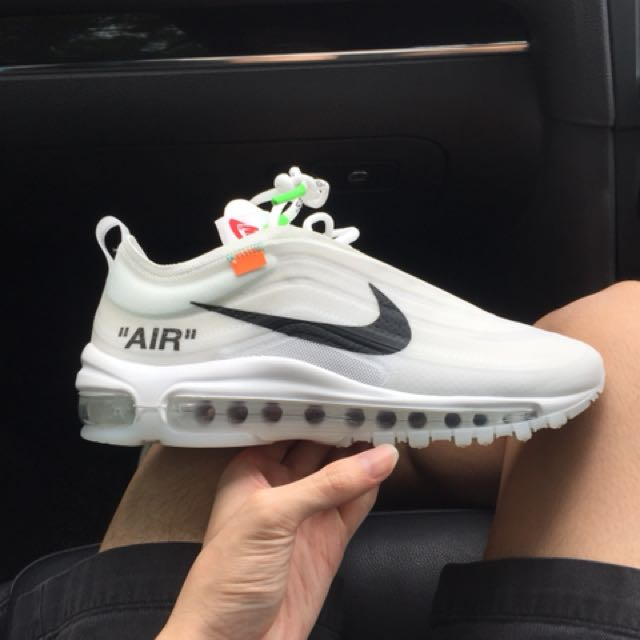 nike air max 97 off white
