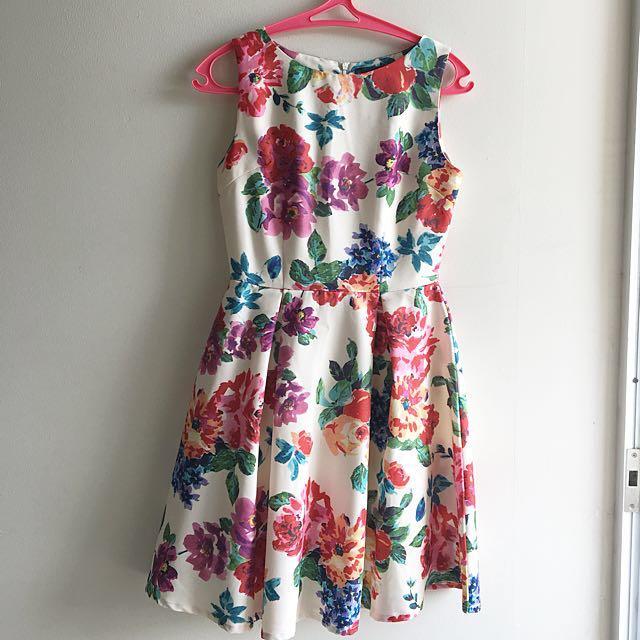 Nyla flower dress