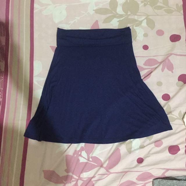 Old Navy Blue Skirt