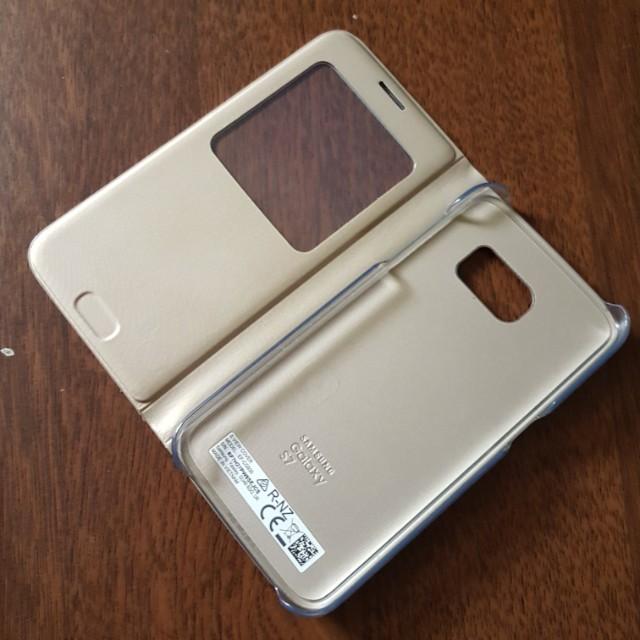Original Samsung S7 S View Case