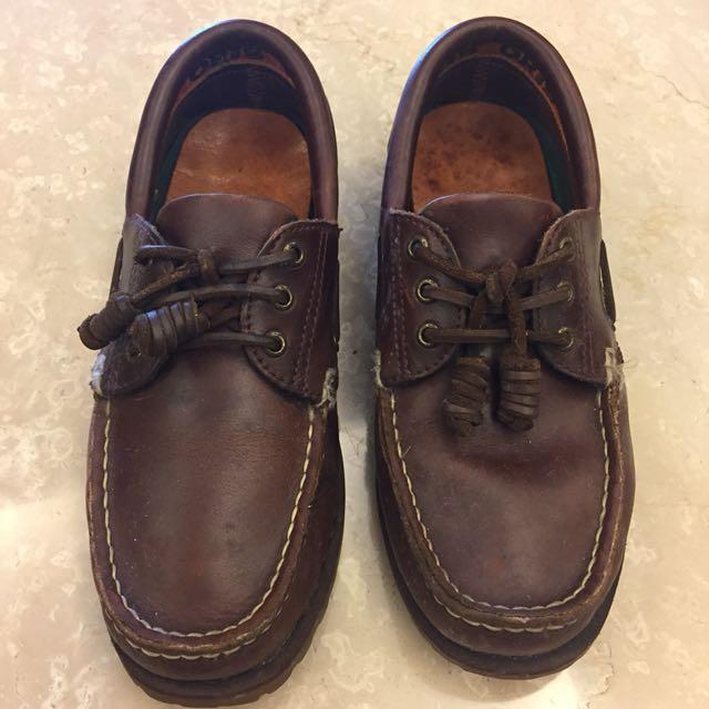 ORIS 經典咖啡休閒鞋 雷根鞋 帆船鞋 #可換物