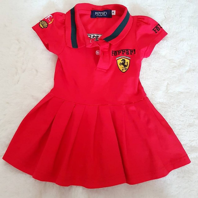 Preloved Ferrari Dress for Baby