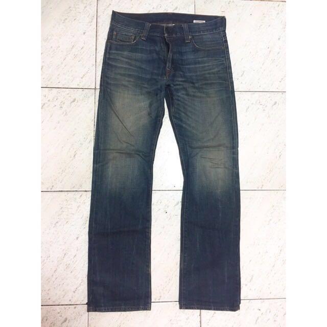 正品不議價premium levi's 34x34 牛仔褲