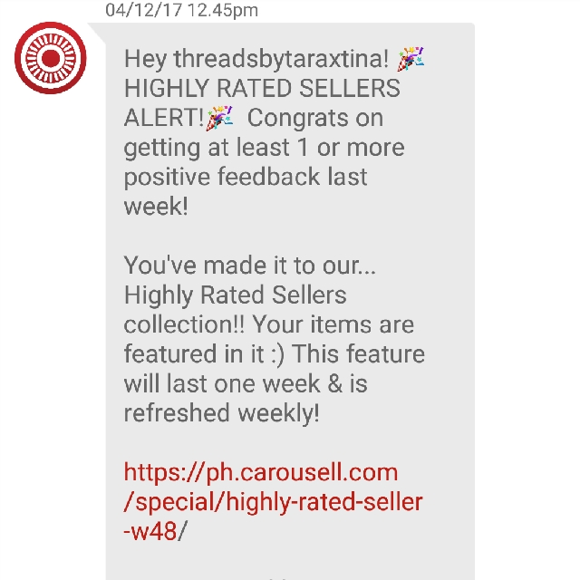 HIGHLY RATED SELLER AGAIN!❤
