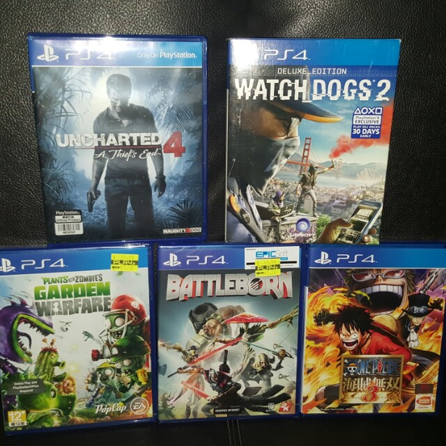 Watch Dogs 2 Deluxe Edition Battleborn
