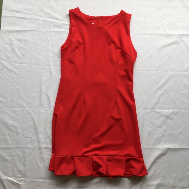 Red Fish Tail Dress