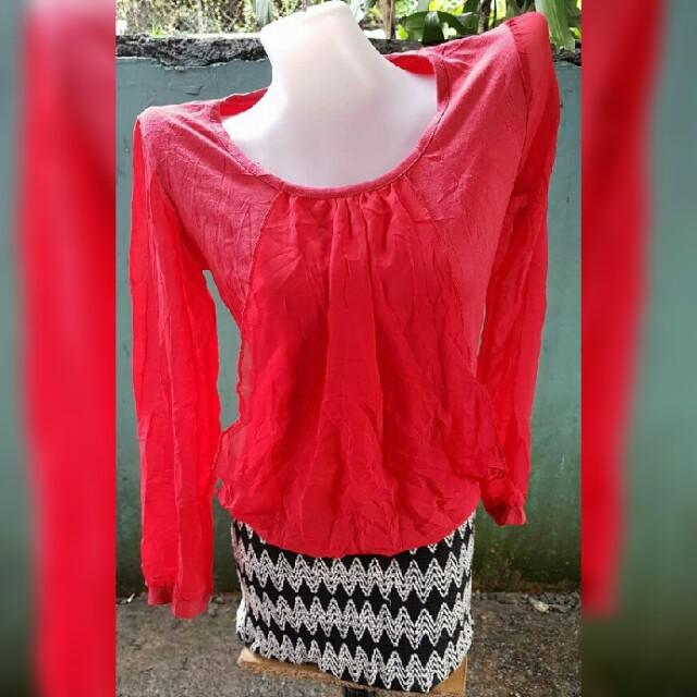 Red Skimpy Dress