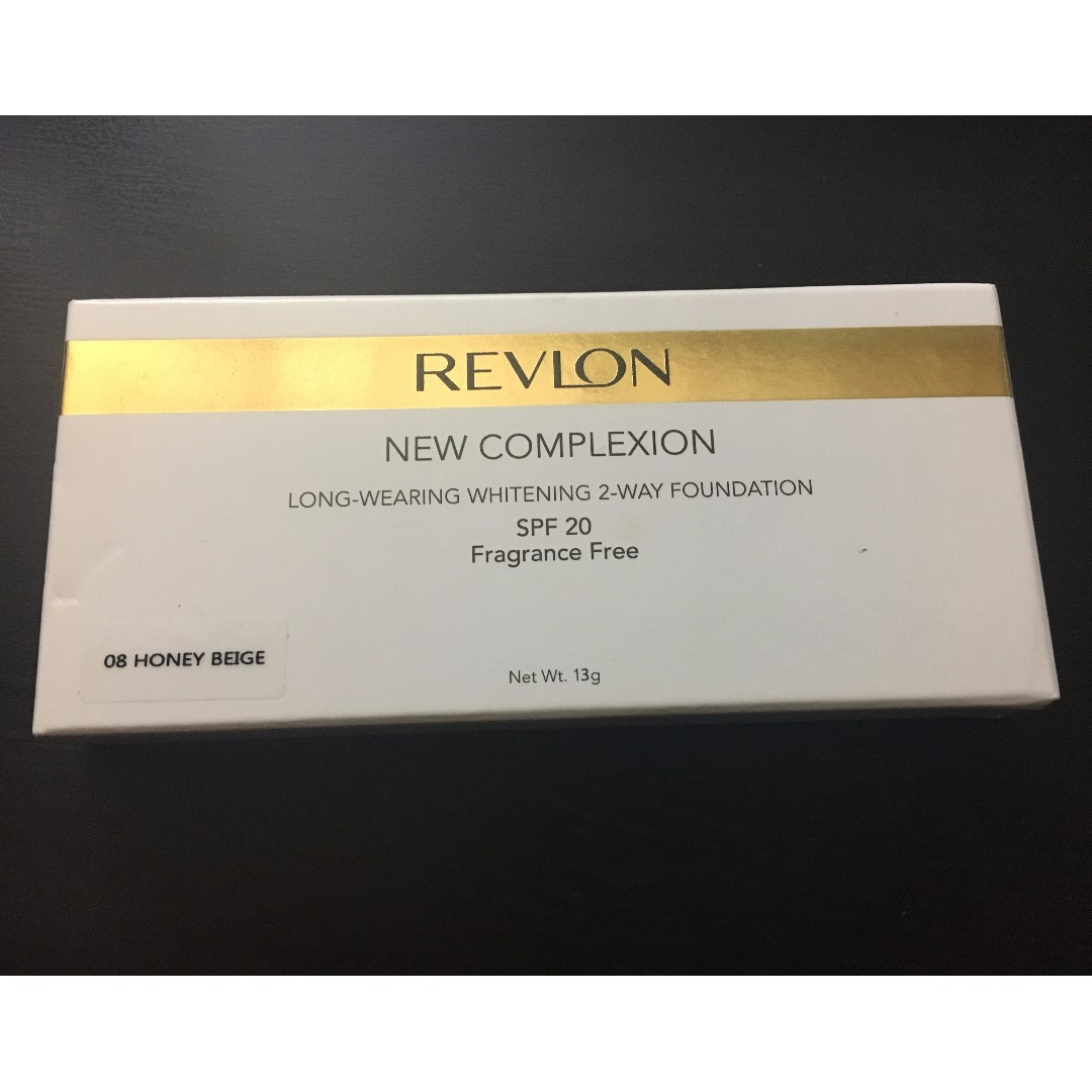 Revlon New Complexion Long-Wearing Whitening 2-Way Foundation SPF 20, Health &