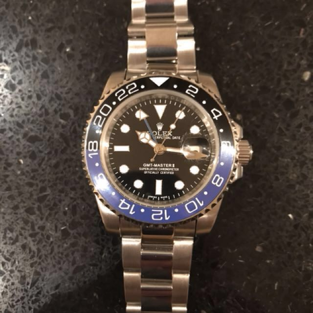 Rolex gmt (Batman) Watch