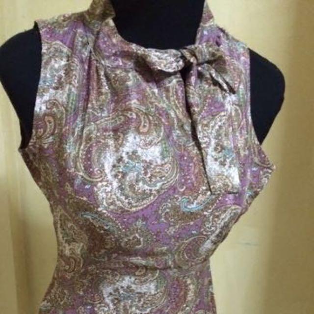 ❣SALE❣ Wanko Satin Paisley Dress