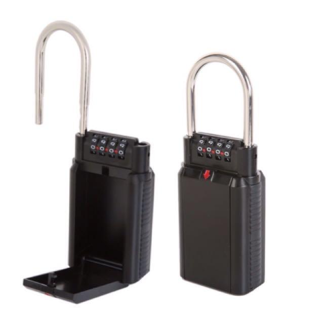 Secret lock storage with code