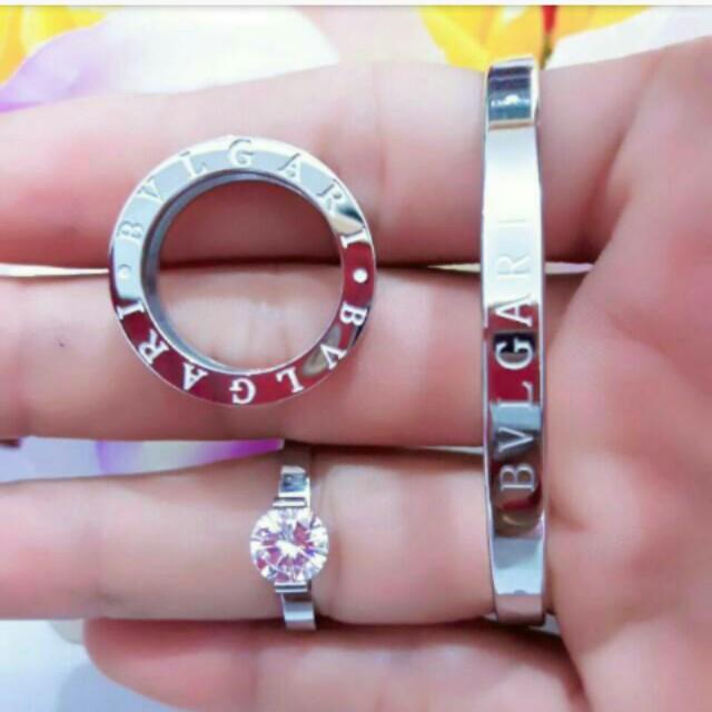 Set gelsng & cincin