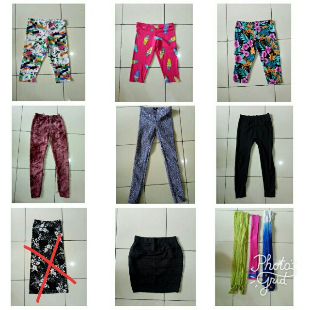 Shorts/pants 3 for 100